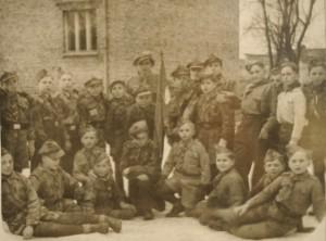 Drużyna harcerska Puck 1920